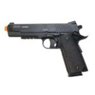 Soft Air Cyber Gun & Palco Sig Sauer GSR 1911 CO2 Airsoft Gas Gun at