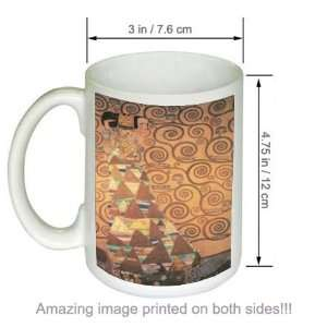 Gustav Klimt Fine Art COFFEE MUG Expectation