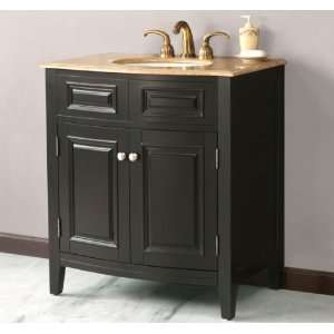 Virtu LS 1023 32 Travertine Countertop Single Vanity