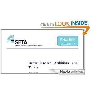 Irans Nuclear Ambitions and Turkey (SETA Policy Briefs) Hakki Uygur