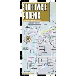 Streetwise Phoenix Map   Laminated City Center Street Map