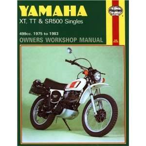 YAMAHA XT, TT & SR 7583 (Owners Workshop Manual