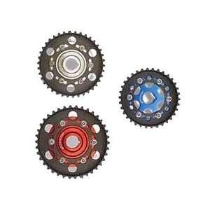 Billet Adjustable Cam Gears   1.6L/1.7L/1.8L/2.3L DOHC, Blue   2 Gears
