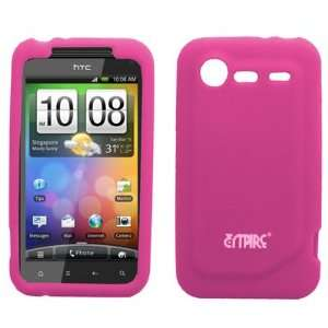 EMPIRE Hot Pink Silicone Skin Case Cover for Verizon HTC
