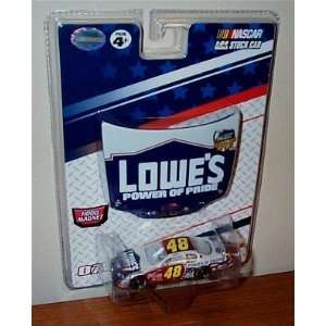 64 Scale Car & Bonus 1/24 Scale Magnet Hood Winners Circle Toys