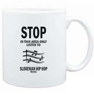 Mug White  STOP   In this area only listen to Slovenian Hip Hop music