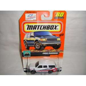 100 SNOW EXPLORER SERIES CHEVY SUBURBAN DIE CAST COLLECTIBLE: Toys