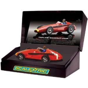 Maserati 250F   Tinplate Slot Car Toys & Games