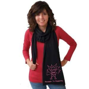 Awesome Girl Black American Apparel Scarf