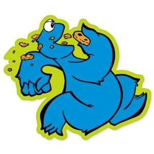 Cookie Monster kids vynil car sticker decal 4 x 4
