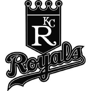 Kansas City Royals MLB Vinyl Decal Sticker / 4 x 4.5