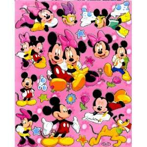 Mouse Disney Sticker Sheet E002 swimming googles freestyle school love