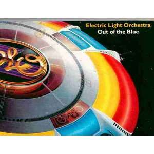 Inserts Featuring Song Lyrics) ELO Electric Light Orchestra Music