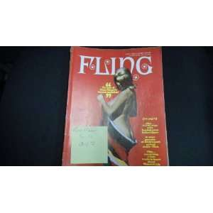 Fling Vintage Busty Pin up Magazine March 1971 Russ Meyer Girls: Books