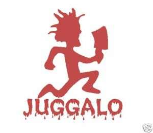ICP Juggalo Hatchetman Hatchet Man Decal Vinyl Sticker