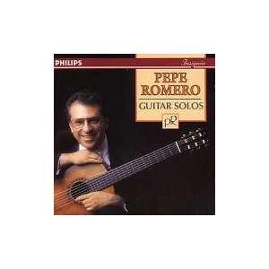 Guitar Solos Pepe Romero, Isaac Albeniz, Enrique Granados