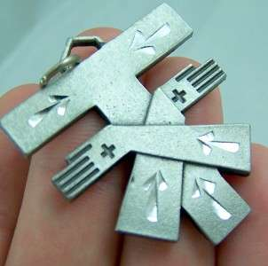 Silver Plated Vestment Tau Cross Medal Franciscan Saint