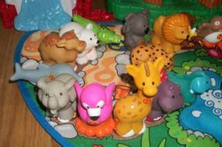 Fisher Price Little People ABC A to Z Alphabet Learning Zoo w/ 26