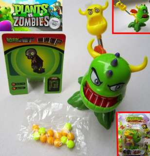 head Bull PVZ Plants vs Zombies Game Figure Shooter Toy #8855