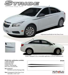 NEW Chevy CRUZE Vinyl GRAPHICS Stripes Decals * * 3M