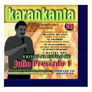 Karaokanta KAR 4289   Al Estilo de Julio Preciado   I