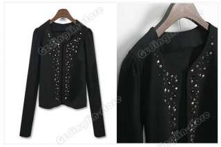 Korea Fashion Lady Women Long Sleeve Shrug Jacket #085