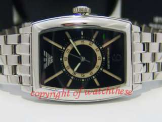 RARE EMPORIO ARMANI STAINLESS STEEL CLASSIC MEN WATCH AR0919 BUY NOW