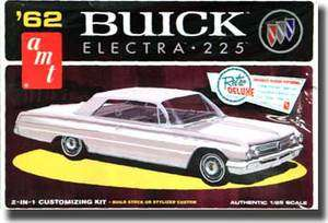 AMT 1/25 SCALE 1962 BUICK ELECTRA 225 PLASTIC MODEL KIT