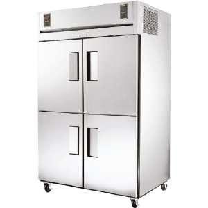 Ta series Dual temp Reach in 4 door Refrigerator / Freezer   TA2DT 4HS