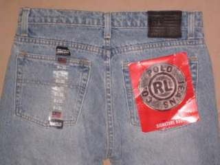 NWT Ralph Lauren Polo Jeans Co. Signature bootcut button fly jeans