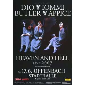 Heaven & Hell   Dio, Iommi, Buttler, Appice 2007   CONCERT