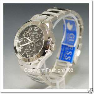 GUESS MENS MULTI FUNCTION RUSH WATER PRO WATCH G10178G