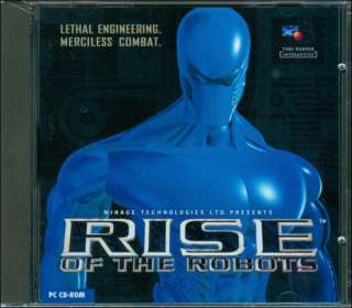 Rise of the Robots from Time Warner Interactive merciless combat for