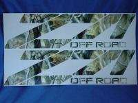 Chevy 4x4 truck decal camo Z71 off road old ss 1500 gmc