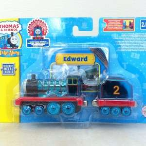 Metallic Edward Take Along N Play Thomas Tank Engine