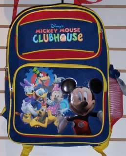 Disney MICKEY MOUSE CLUBHOUSE Numbers Medium 14 BACKPACK Bag Minnie