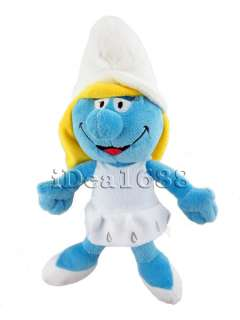 12 The Smurfs Figure Soft Stuffed Plush Dolls Toy Set