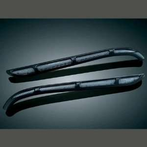 Kuryakyn 7744 Gloss Black Rear Fednder Strip Light For Harley Davidson