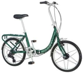 "Schwinn 20"" Unisex Loop Hybrid Bike Bicycle   Forrest Green"