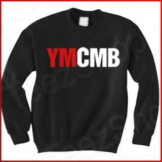 YMCMB Young Money Lil Wayne cash Weezy black Sweatshirt