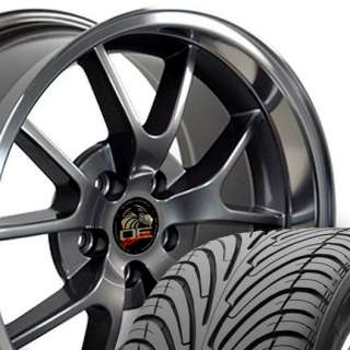 18 9/10 Anthracite FR500 Wheels Nexen Tires Rims Fit Mustang® 94