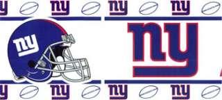 NFL NEW YORK GIANTS NY Football Sports WALLPAPER BORDER