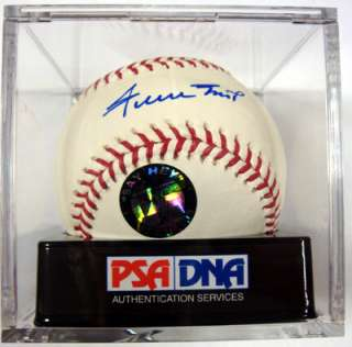 WILLIE MAYS AUTOGRAPHED SIGNED MLB BASEBALL GRADED 10 PSA/DNA