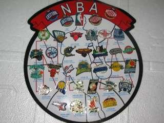 2011 2012 NBA Teams LOGO 33 PCs Pin Badge Set