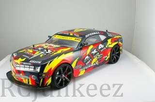 Drift Race Car 1/10 Scale 4 Wheel Drive 4WD Rockstar Car