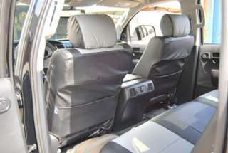 TOYOTA TUNDRA 2010 2011 S.LEATHER CAR SEAT COVERS