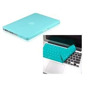 / Cover SET + Teal Solid Silicone Keyboard Skin Cover for 13 A1278