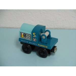 Pumper Car Thomas & Friends Wooden Train Loose Item Toys & Games