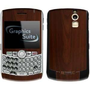 Maple Wood Grain Pattern Skin for Blackberry Curve 8300