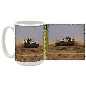 U.S. Army M1 Abrams Tanks Coffee Mug: Kitchen & Dining